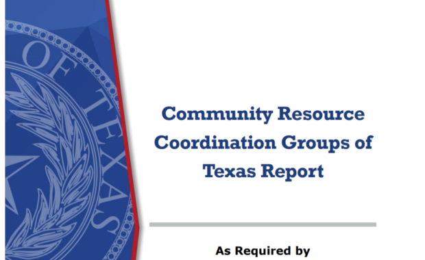Community Resource Coordination Groups of Texas Report